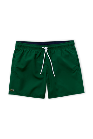 Light Quick-Dry Swim Shorts in Green LACOSTE