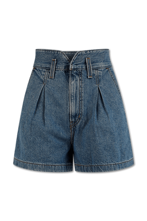 High Wasted Short in indigo LEVI`S