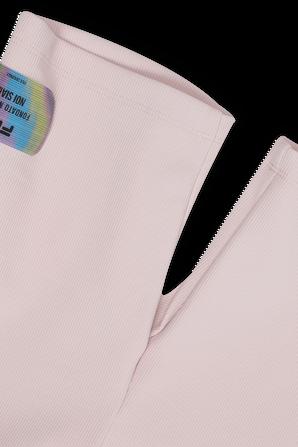 גילאי 6-16 מכנסי טייץ קצרים בצבע ורוד FILA