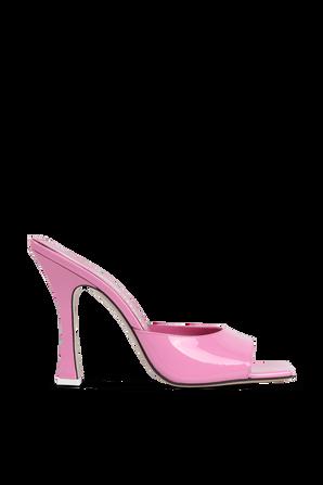SUPERATTICO- נעלי עקב אנאיס בגוון ורוד THE ATTICO