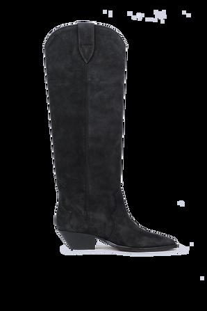 Denvee Boots in Black ISABEL MARANT