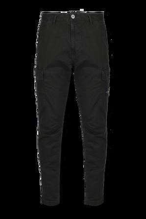 Cargo Pants in Black STONE ISLAND