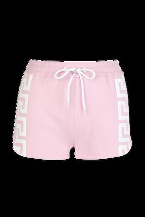Greca Shorts in Pink VERSACE