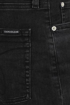 Slim Denim Shorts in Black CALVIN KLEIN