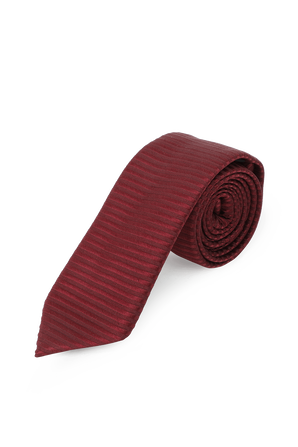 Red Silk Tie  BOSS