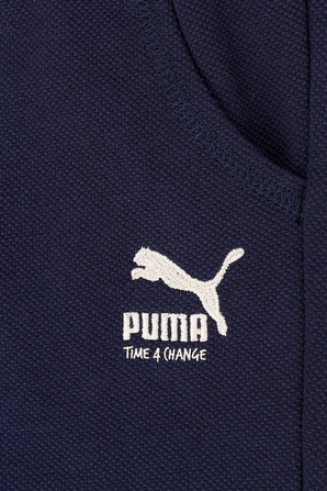 גילאי 2-14 מכנסיים קצרים בטקסטורת פיקה PUMA KIDS