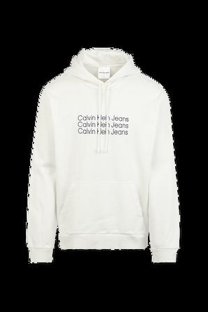 Forward 90's Hoodie Sweatshirt in Natural White CALVIN KLEIN