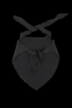Logo Print Bandana Face Mask in Black OFF WHITE