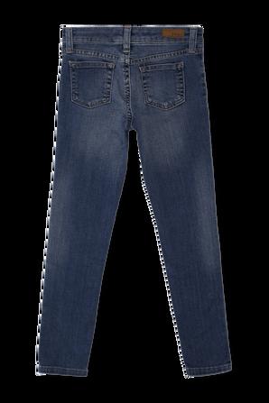 גילאי 7-16 מכנסי דנים סטרץ בגזרה גבוהה POLO RALPH LAUREN KIDS