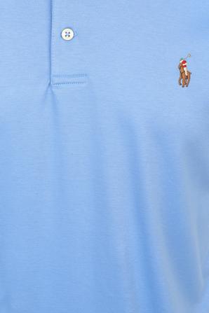 Classic Short Polo Shirt in Blue POLO RALPH LAUREN