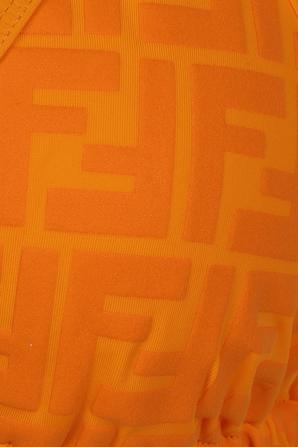 Triangle Bikini Set in Orange FENDI