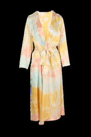 Long Kimono in Pastel Tie-Sye ELLE SASSON