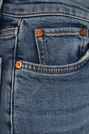 מכנסי ניינטיז היי רייס בשטיפת אינדיגו RE/DONE