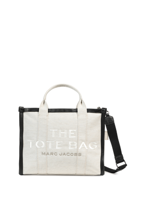 The Summer Small Traveler Tote Bag in Natural MARC JACOBS