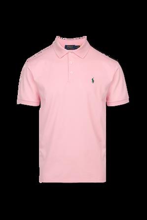 Classic Slim Polo Shirt in Pink POLO RALPH LAUREN