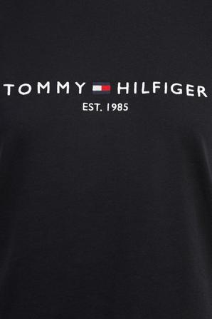 Essential Crew Neck Logo T-Shirt in Dark Blue TOMMY HILFIGER