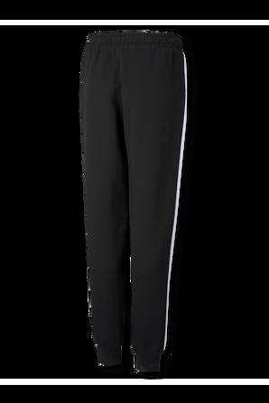 גילאי 4-14 מכנסי גוגר בשחור עם סטרייפ בצד PUMA KIDS