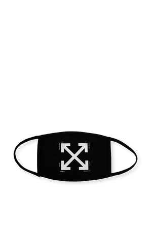 Arrows Mask in Black OFF WHITE