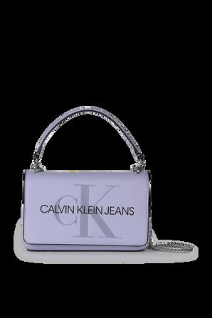 Shoulder Bag in Lavender CALVIN KLEIN