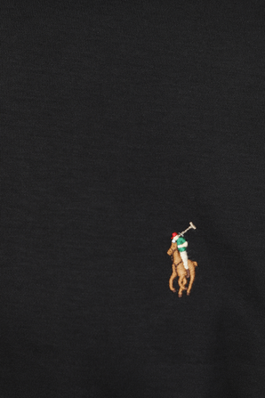 Black Slim Fit Soft Touch Polo Shirt POLO RALPH LAUREN