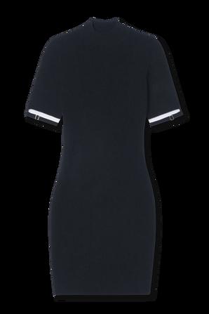 Mini Knit Dress in Black JACQUEMUS