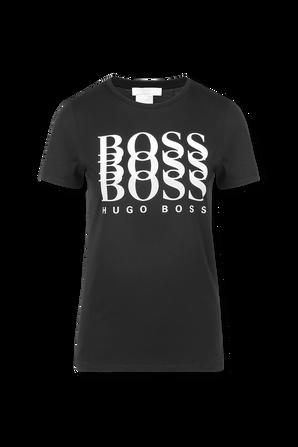 Regular-Fit T-Shirt in Black BOSS