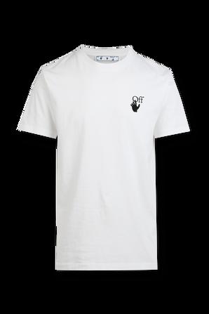 Logo T-Shirt in White OFF WHITE