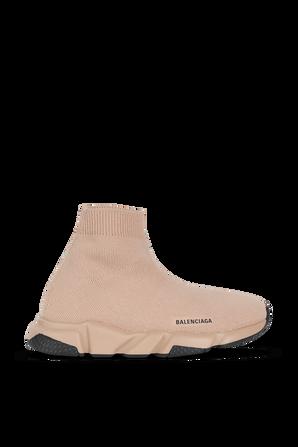 גילאי 23-32 נעלי גרב בגוון בז' BALENCIAGA KIDS