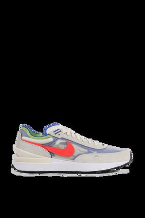 נעלי ספורט וואפל וואן בגווני כחול כתום וירוק NIKE