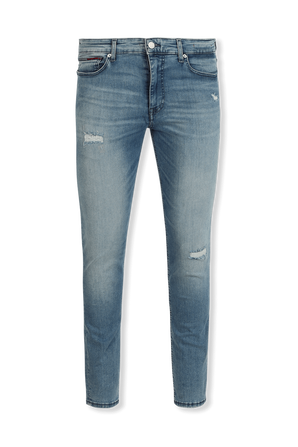 Simon Skinny Faded Jeans  in Light Wash TOMMY HILFIGER