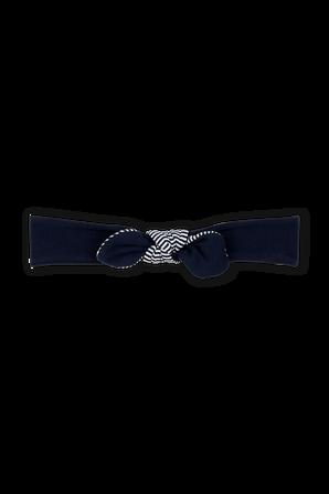 סרט לשיער בכחול נייבי עם פפיון פסים PETIT BATEAU