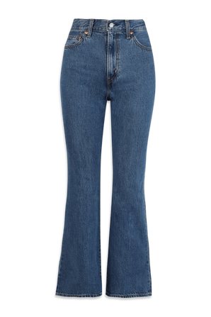 Math Club Flare Jeans in Blue LEVI`S
