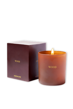 Wood Library Candle ASSOULINE