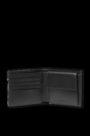 Black Greyson Logo Billfold Wallet With Coin Pocket MICHAEL KORS