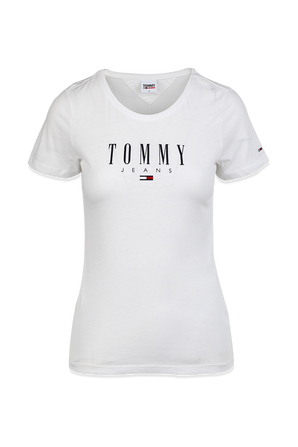 Skinny Fit T-Shirt in White TOMMY HILFIGER