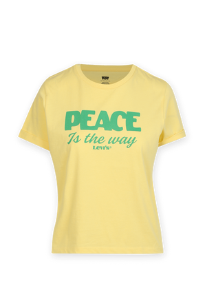 Peace T Shirt in Yellow LEVI`S