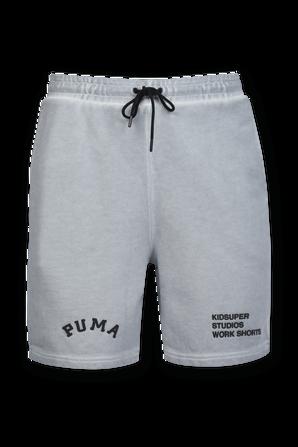 PUMA x KIDSUPER STUDIOS Shorts in Grey PUMA