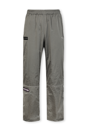 Mercedes F1 Woven Pants in Grey Silver PUMA