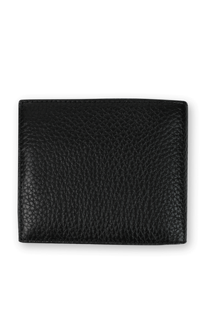 Downtown Leather Wallet In Black TOMMY HILFIGER