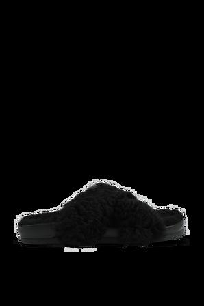 Zephyr Sherling Slide Sandals In Black IRO