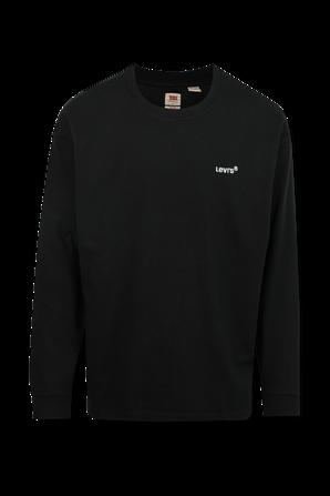 חולצת טי עם שרוולים ארוכים בצבע שחור LEVI`S