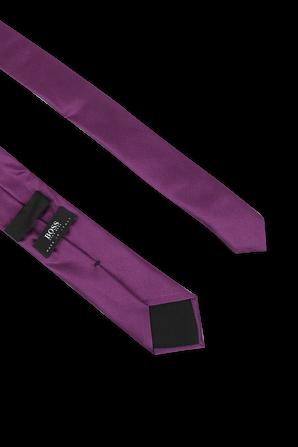 Silk Tie in Purple BOSS