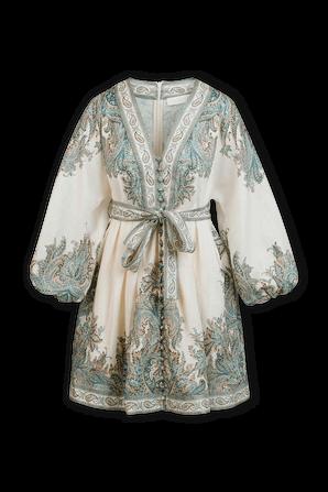 Brighton Paisley Mini Dress ZIMMERMANN