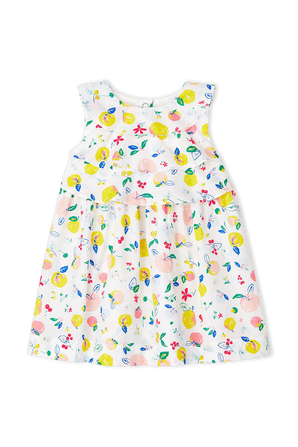גילאי 18-24 שמלה בהדפס פירותי PETIT BATEAU