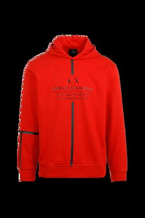 Hoodie Sweatshirt in Red ARMANI EXCHANGE