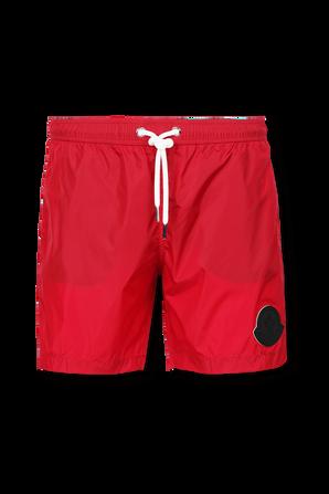 Regular fit Swim Shorts in Black MONCLER