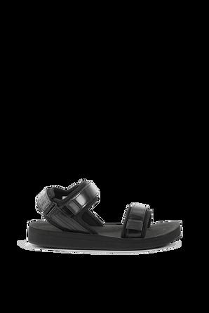 Suruga Sandals in Black LACOSTE