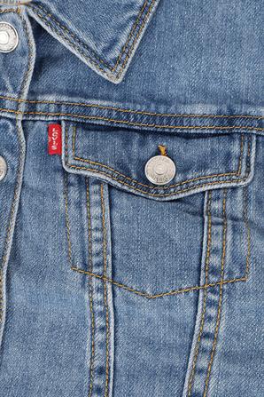 גילאי 4-6 ז'קט ג'ינס קלאסי בגוון אינדיגו בינוני LEVI`S KIDS