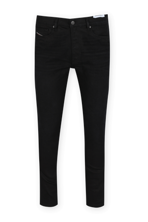 מכנסי סקיני ג'ינס בשטיפה שחורה DIESEL