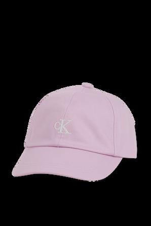 כובע בייסבול עם לוגו רקום בגוון ורוד CALVIN KLEIN